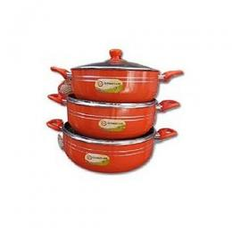 Ultimate Ash 6 Pcs Non Stick Cookware Set