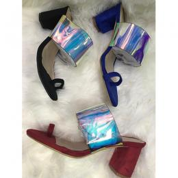 WOMEN'S STYLISH WIDE HEEL SHOE (AVAILABLE IN ALL SIZES)