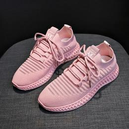 LUXURY HIGH STYLED FASHION SNEAKER|PINK
