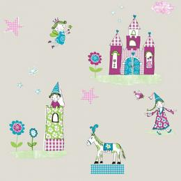 KIDDIES PATTERNED WALLPAPER - 71104