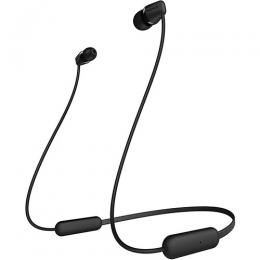 Sony WI-C200 Wireless in-Ear Headset/Headphones with mic for Phone Call, Black WIC200