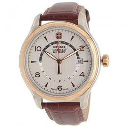 Wenger 79306C Swiss Army Classic Executive Brown Leather Watch