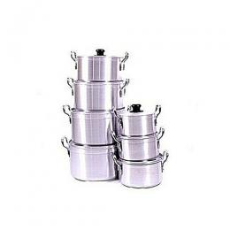 Sumo Premium Aluminium Cookware Set - 7 Pieces