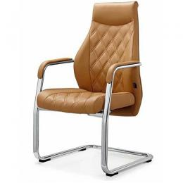 DELUXE OFFICE VISITOR'S CHAIR|LEATHER|DEL 222