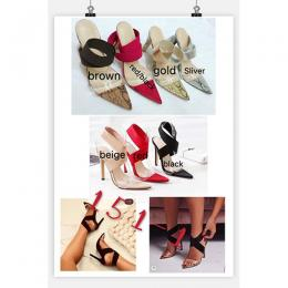 STYLISH LADIES HIGH HEEL SHOE|CHOOSE SPECIFIC COLOUR (AVAILABLE IN ALL SIZES)