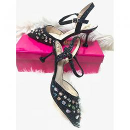 WOMEN'S STYLISH HIGH HEEL SHOE|BLACK (AVAILABLE IN ALL SIZES)