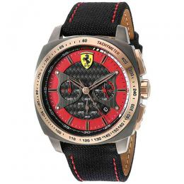 Ferrari 830294 Men's 'AERO EVO' Quartz Chronograph Watch