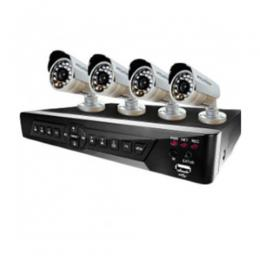 MERCURY SURVEILLANCE CAMERAS 8 CHANNELS DVR + 4 CAMERAS