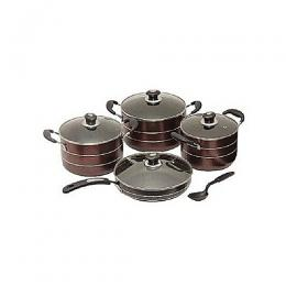 Hoffner 8pcs Non Stick Set With Frying Pan