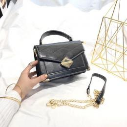STYLISH MINI HAND BAG WITH SHOULDER LOCK