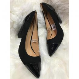 WOMEN'S EXOTIC BLACK HIGH HEEL SHOE (AVAILABLE IN ALL SIZES)