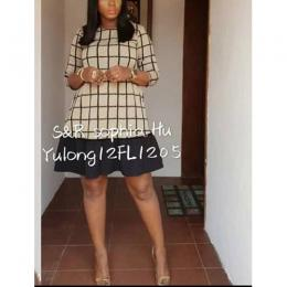 WOMEN'S ELEGANT SKIRT AND BLOUSE|02 (AVAILABLE IN ALL SIZES)