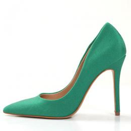 WOMEN'S HIGH STYLED GREEN HIGH HEEL SHOE (AVAILABLE IN ALL SIZES)