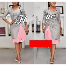 LADIES LOVELY CORPORATE GOWN 02 (AVAILABLE IN ALL SIZES)