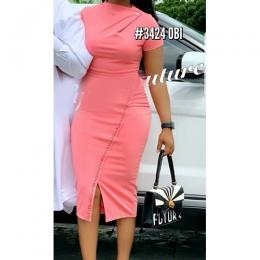 LADIES ELEGANT PINK GOWN 2 (AVAILABLE IN ALL SIZES)