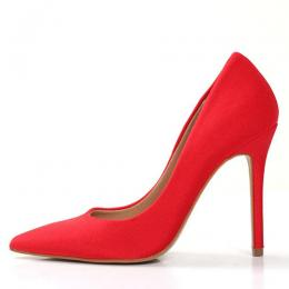 WOMEN'S HIGH STYLED RED HIGH HEEL SHOE (AVAILABLE IN ALL SIZES)
