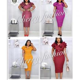 LADIES RITZY CORPORATE GOWN|(AVAILABLE IN ALL SIZES)