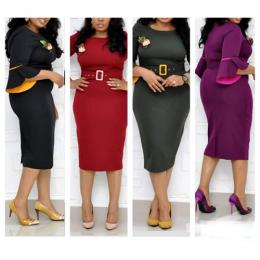 WOMEN'S RITZY CORPORATE GOWN 001 (AVAILABLE IN ALL SIZES)