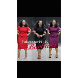 FANCY LADIES CORPORATE GOWN (AVAILABLE IN ALL SIZES)