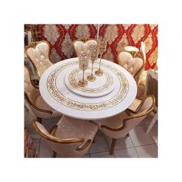 Blekn Furnitures Royal Marble Dining / Conference Set