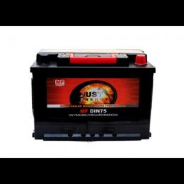 JUST CAR BATTERY 75AH/12V - deluxe.com.ng