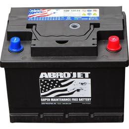 abro jet flat battery (45 amp) dry charge