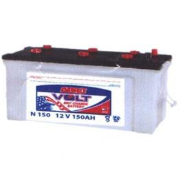 abro volt battery (150 amp) dry charge