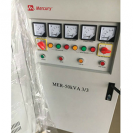 MERCURY 50KVA 3-PHASE FULLY AUTOMATIC AC VOLTAGE STABILIZER – SERVO AVR 3-PHASE IN / 3-PHASE OUT