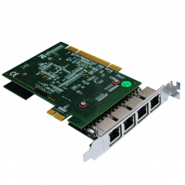 Allo 4 Port PRI Card (PCI & PCIe) with LEC (3rd Gen)- 4E1