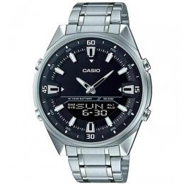 CASIO GENT'S AMW-830D-1AVDF ENTICER ANALOG-DIGITAL BLACK DIAL WATCH