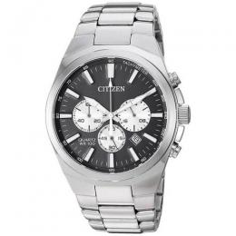 CITIZEN AN8170-59E CHRONOGRAPH BLACK DIAL QUARTZ MEN'S MEDIUM WATCH