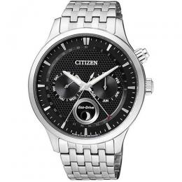 CITIZEN AP1050-56E MEN'S ECO-DRIVE MOON PHASE ANALOG WATCH
