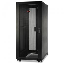 NetShelter SV 42U 600mm Wide x 1060mm Deep Enclosure with Sides, Black, Single Rack Unassembled | AR2400FP1