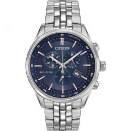 CITIZEN AT2141-52L MEN'S ECO-DRIVE CHRONOGRAPH STAINLESS STEEL BRACELET WATCH