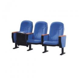 3 in 1 Auditorium Chair (Blue)