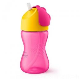 PHILIPS STRAW CUP 10OZ SINGLE GIRL|SCF798/02