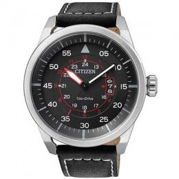 CITIZEN AW1360-04E MEN'S ECO-DRIVE AVIATOR POWER RESERVE WATCH - deluxe.com.ng