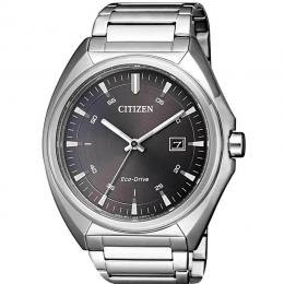 CITIZEN AW1570-87H MEN'S ECO-DRIVE STAINLESS STEEL BLACK DIAL WATCH