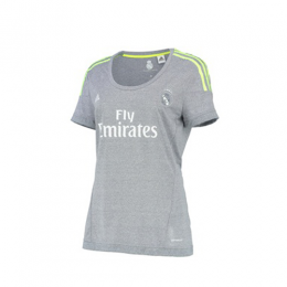 (Customized) Female Real Madrid Authentic Away Jersey 2015/16