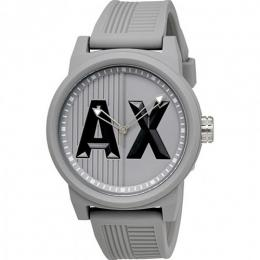 Armani Exchange AX1452 Men's Analog Grey Silicone Watch