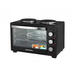 Polystar 25Ltrs Toaster oven with 2hot plates|PV-V25B