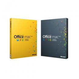 MICROSOFT OFFICE MAC HOME STUDENT 2011 EN DVD