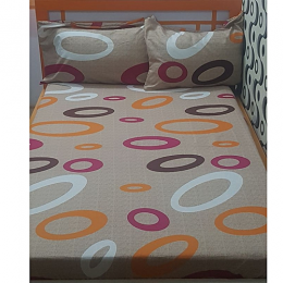 Circle Pattern Bedsheet