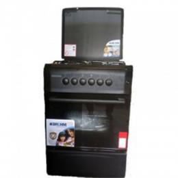 BRUHM 4 Burner Gas Cooker 60x60cm Black (BGC – 6640G2)