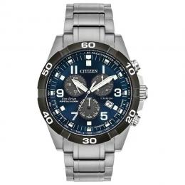 CITIZEN BL5558-58L MEN'S BRYCEN PERPETUAL CHRONOGRAPH TITANIUM WATCH