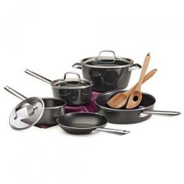 Tramontina 10 Piece Non-Stick Heavy-Gauge Aluminum Cookware Set