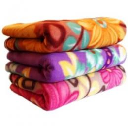 Floral Blanket - Set of 3