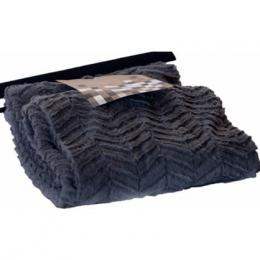 Stylish Throw Blanket - Grey