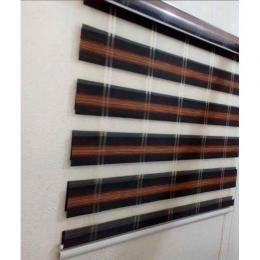 ZEBRA DAY AND NIGHT WINDOW BLIND 089 ...mini (W3ft x L4ft) large (W7ft x L5ft) medium (W5ft x L5ft)