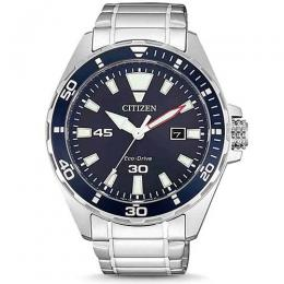 CITIZEN BM7450-81L MEN'S ECO-DRIVE BLUE DIAL ANALOG WATCH
